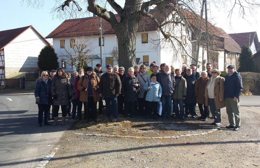 Gruppe Bamberg des Frankenbundes zu Gast in Gompertshausen