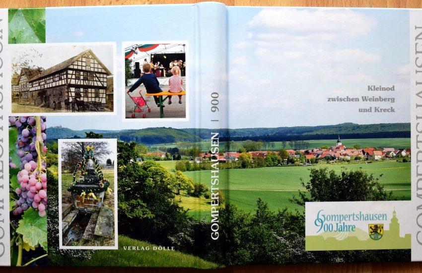 """Buchumschlag """"900 Jahre Gompertshausen"""""""