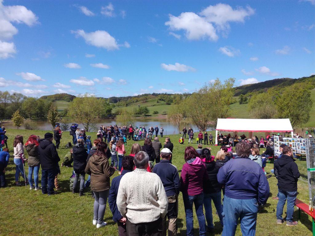 Zahlreiche Gäste zum Fischerfest am Stausee