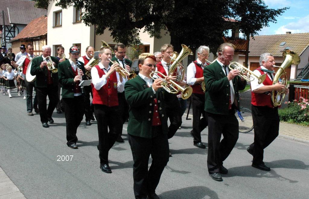 2007 - Kirmes früher und heute
